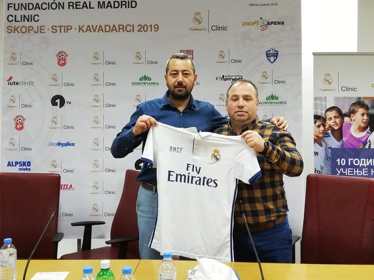 "(Видео) ""Real Madrid Foundation Campus Experience""-во јуни во Кавадарци"