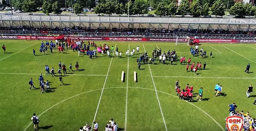 ( Видео ) Финалниот турнир од ФФМ Детски лиги - сезона 2018/2019.