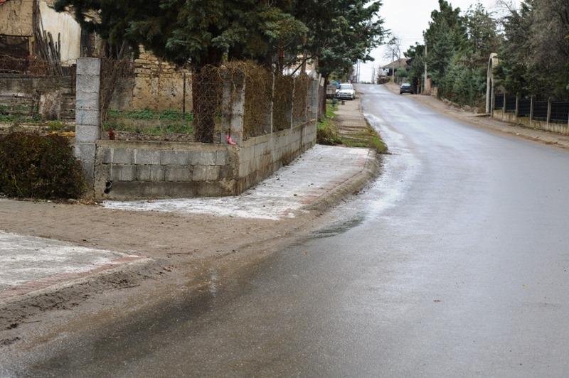 Локална самоуправа Кавадарци / Изградба на тротоар во селото Сопот