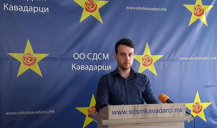 """СДСМ/"""" ВМРО-ДПМНЕ нема никаков кредибилитет да зборува за состојбите во здравството"""""""