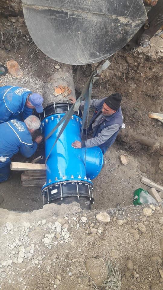 Проект  на Општина Кавадарци /  Реконструкција на водоводна и канализациона линија од Градски базен до Кавдаречки дол во Кавадарци