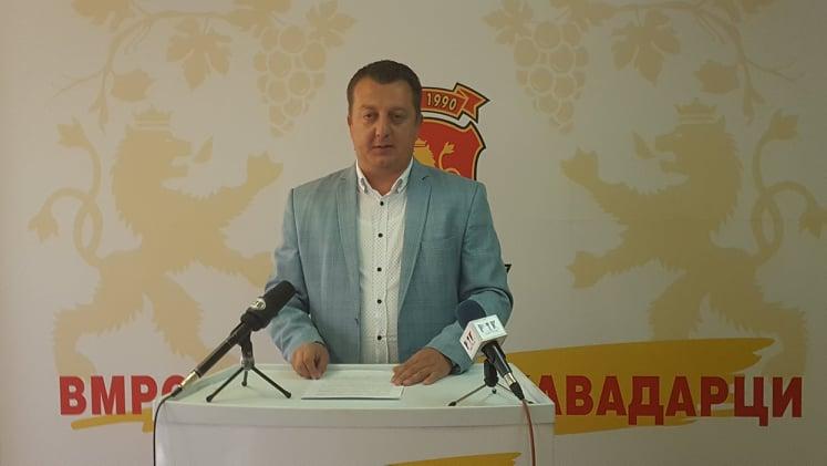 """(Видео) Прес  на ОК ан ВМРО-ДПМНЕ/Ангеловски:""""""""Додека бројот на заразени расте СДСМ ни претставува нова нормалност."""""""