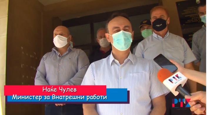 (Видео) Техничкиот министер за Внатрешни работи Наќе Чулев во Кавадарци