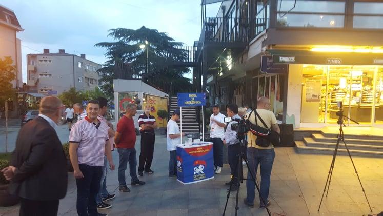 (Видео)-Единстена Македонија во Кавадарци