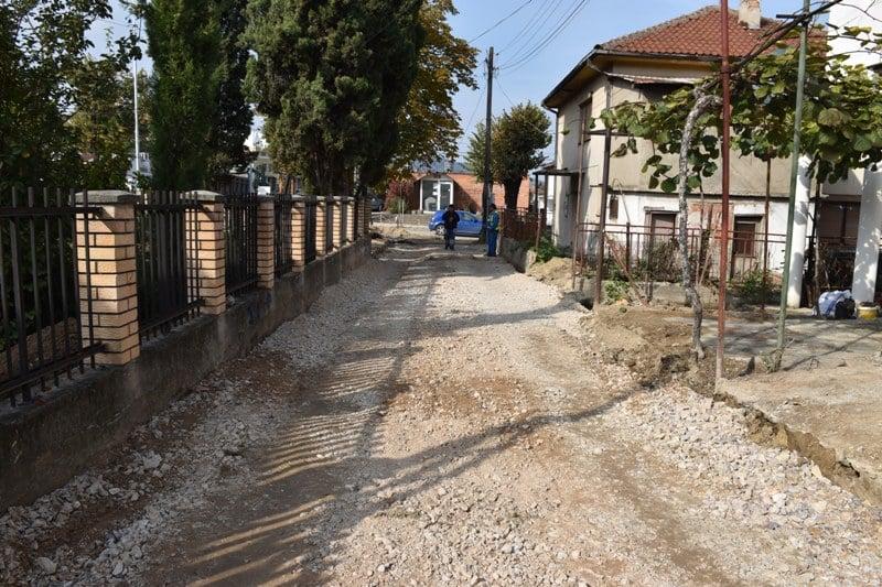 """Општина Кавадарци / Градежните работи за подготовка за асфалтирање на ул. """"Даме Груев"""""""