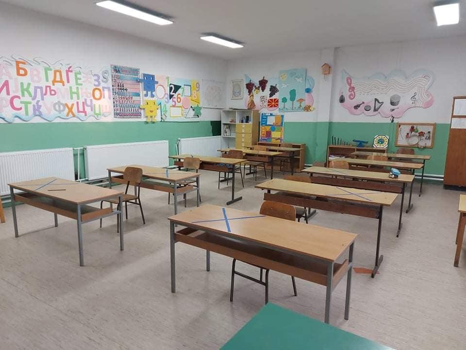 Намалување на трошоците за греење во кавадаречките  училишта / Наместо дрва во Марена  греење  со био гориво