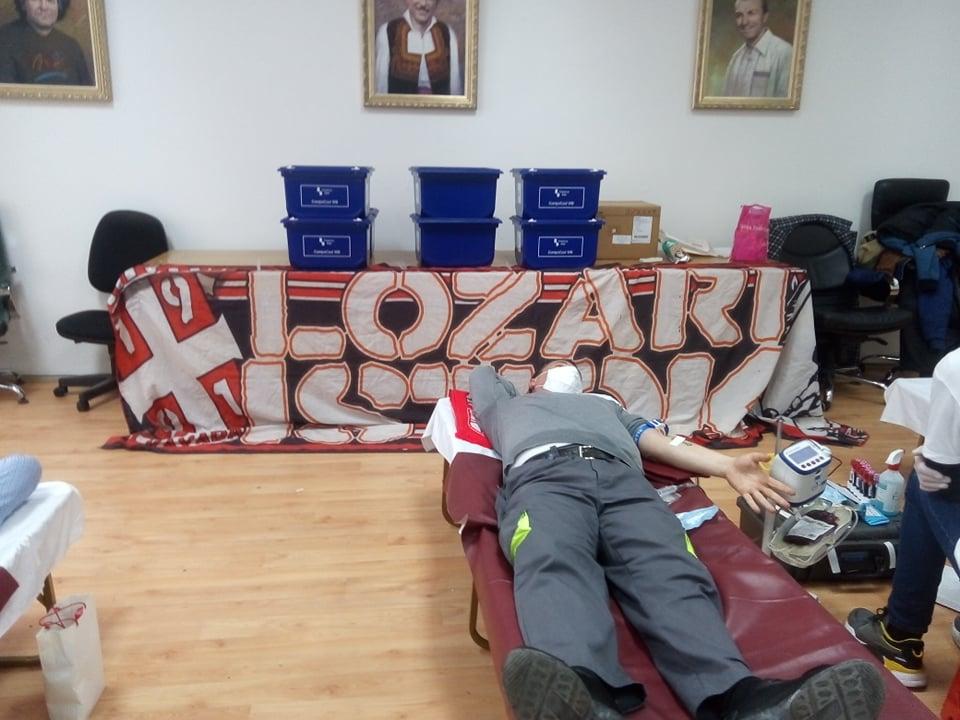 """Крводарителска акција на """"Лозари исток"""""""
