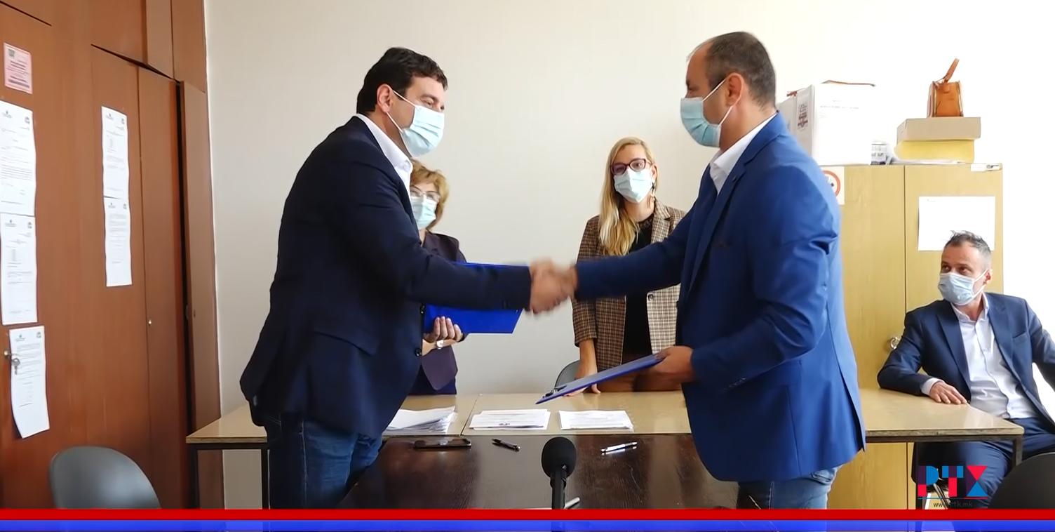 (Видео)  Во Неготино потпишан Кодексот  за фер и демократски избори